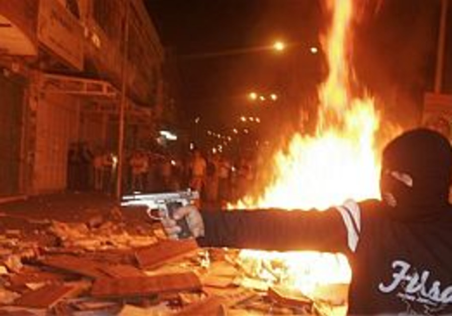 Palestinian Affairs: Blazing battles