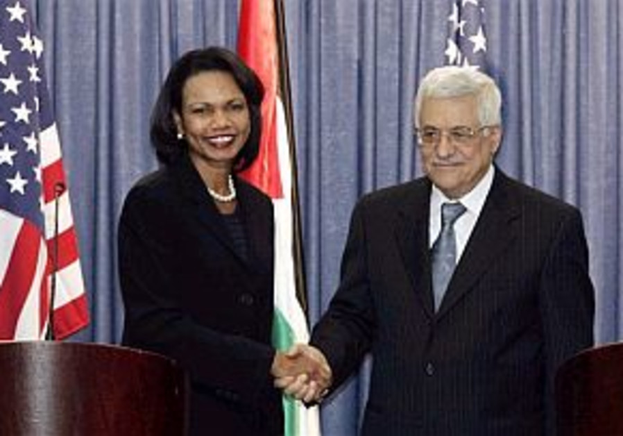 Rice and Abbas to meet in West Bank