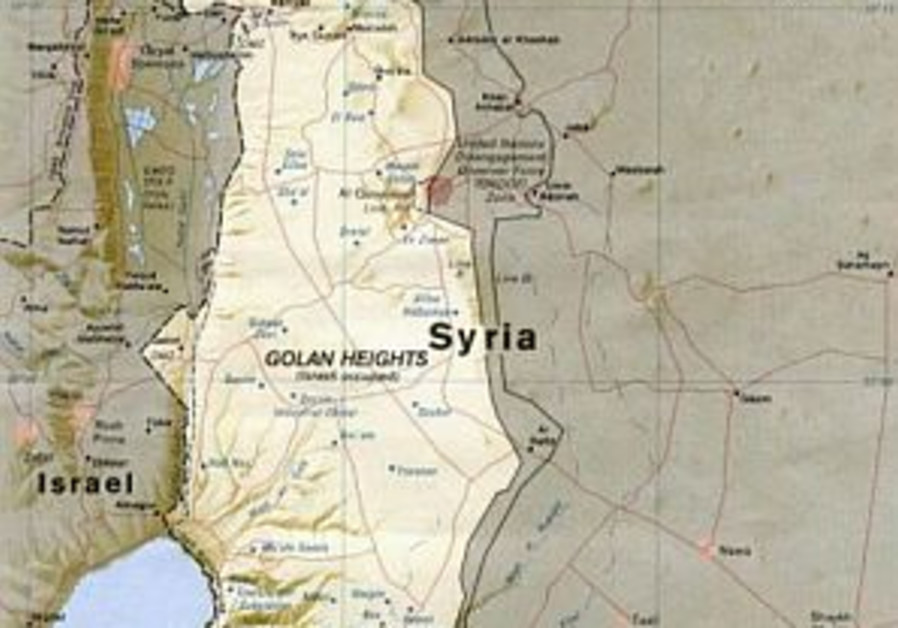 Syria accuses Israel of building dam
