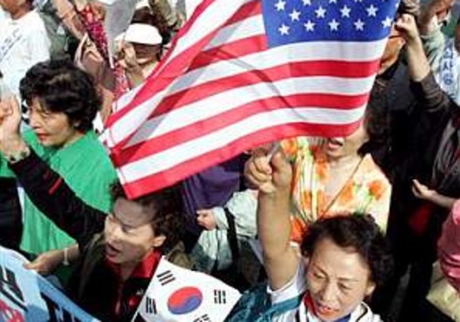 N. Korea issues threat to Washington