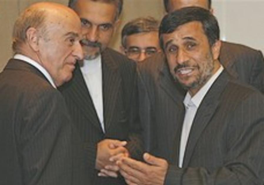 Swiss officials defend Ahmadinejad meeting