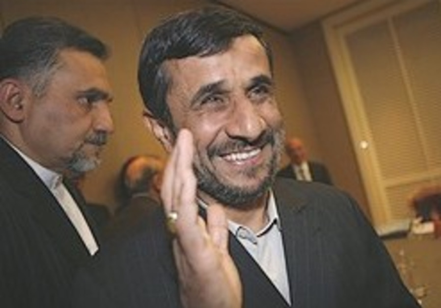 Ahmadinejad: 'Idol of Zionism should be broken'