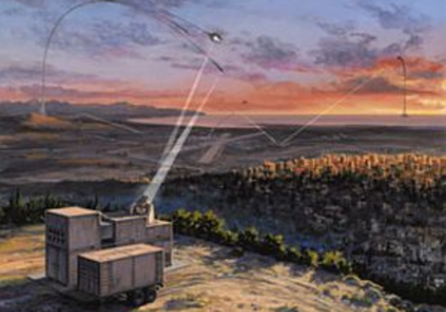 Israel to purchase anti-Kassam system