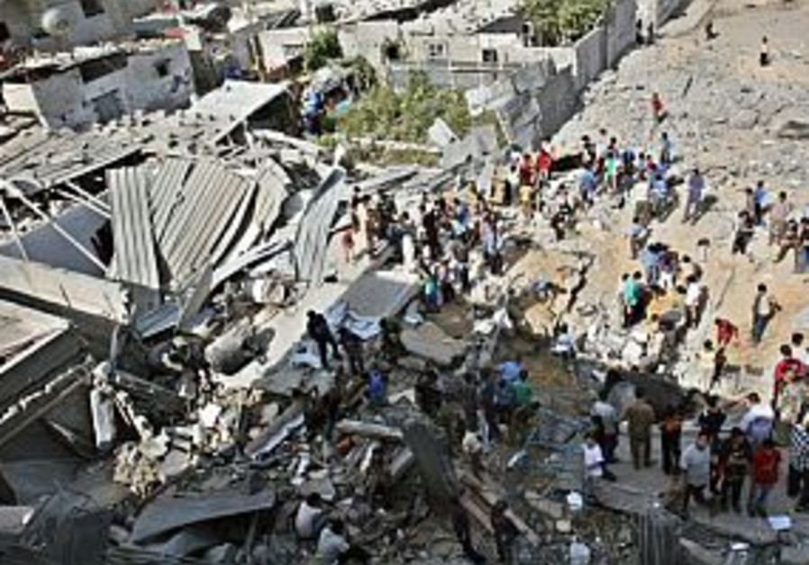 5 family members killed in Gaza raid