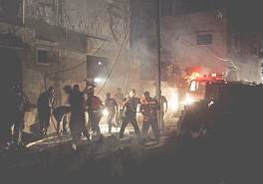 IAF jets strike four buildings in Gaza
