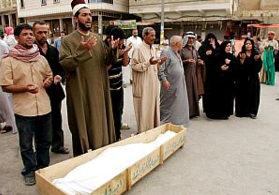 Baghdad: 8 suspected death squad victims found