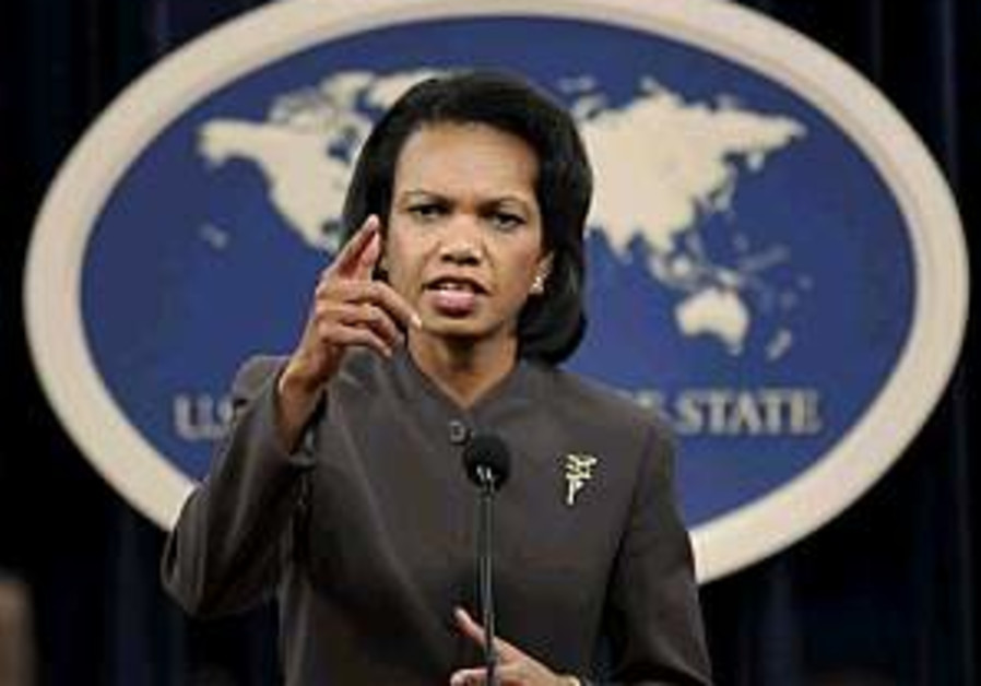Rice: We won't tell Asian gov'ts what to do