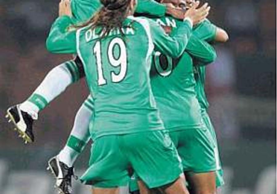 Soccer: Mac Haifa blasts Glentoran out of the water