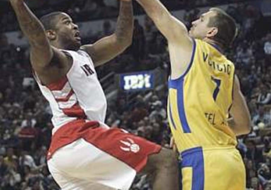Raptors rout Maccabi Tel Aviv in Toronto