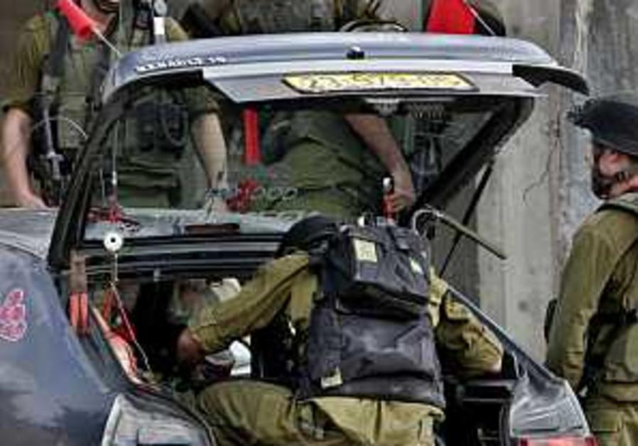 west bank hebron arrest