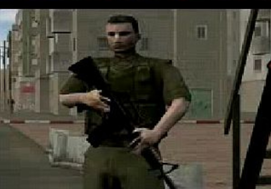 New video game features Israeli-Palestinian conflict