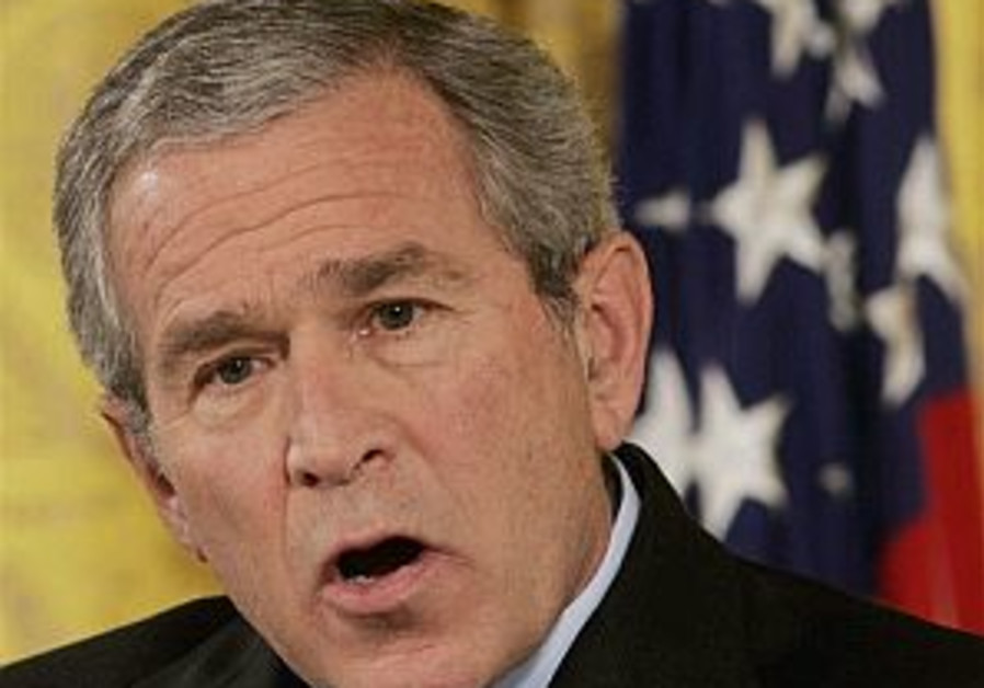 Bush: 'I'm not satisfied either'