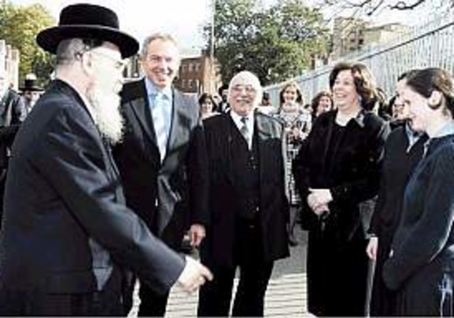 Blair 'proud' to be a friend of the Jews