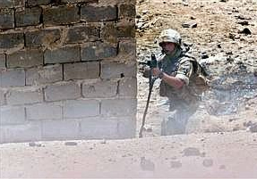 british soldier in iraq ap