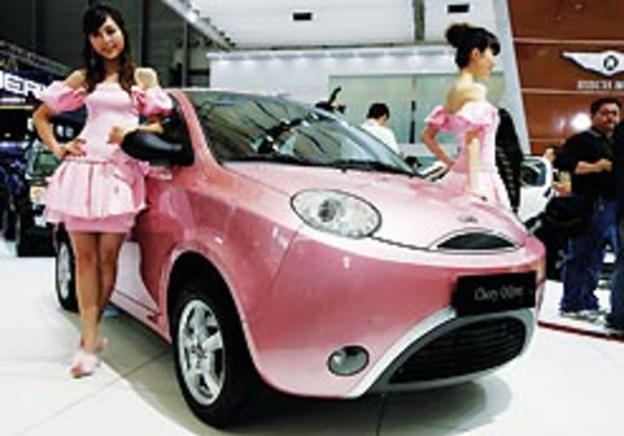 Automakers converge on Shanghai