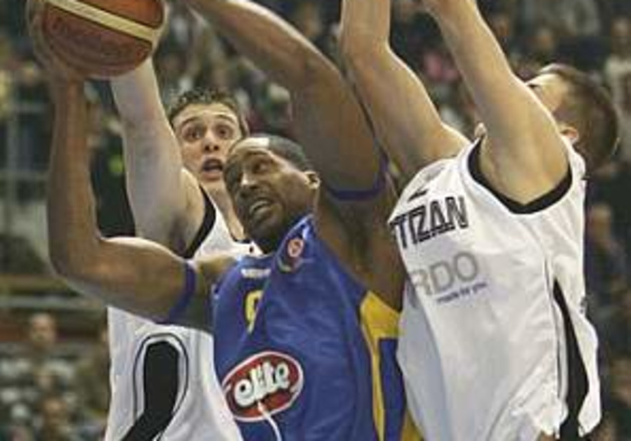 Euroleague: Maccabi TA loses 103-91 to Partizan