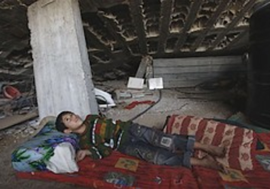 gaza boy destroyed house 248 88 ap