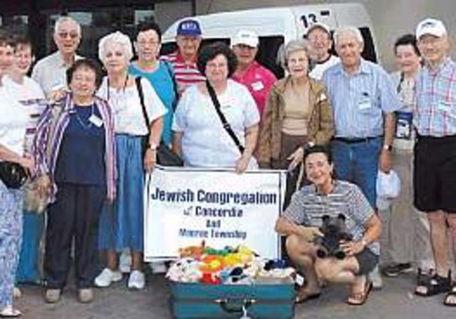 NJ seniors put their money where their Israeli heart is