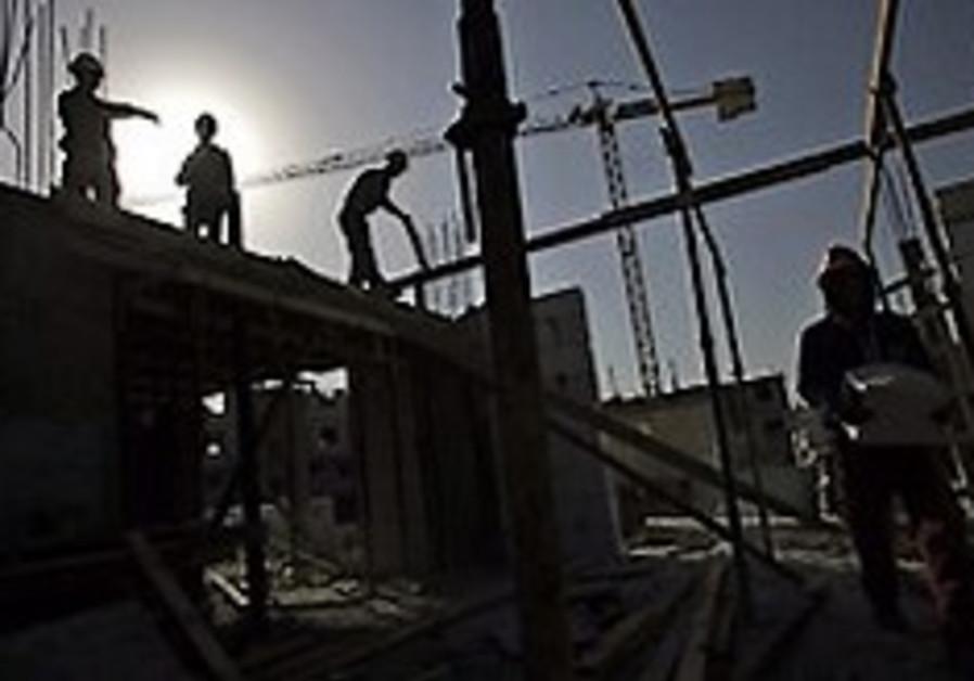 West Bank construction work [illustrative]