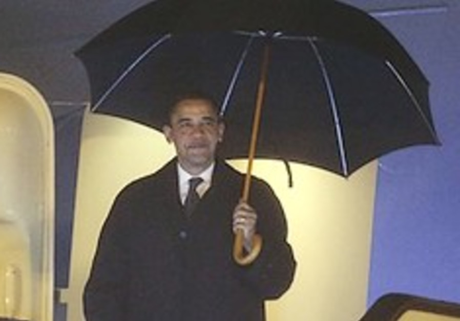 Obama China rain 248.88
