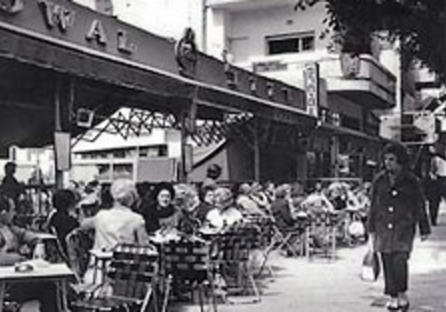 Exhibit visits the history of Tel Aviv's cafes