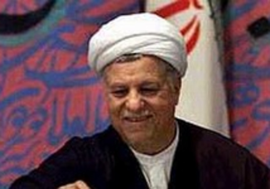 Rafsanjani: Teheran looking to see American 'good will'