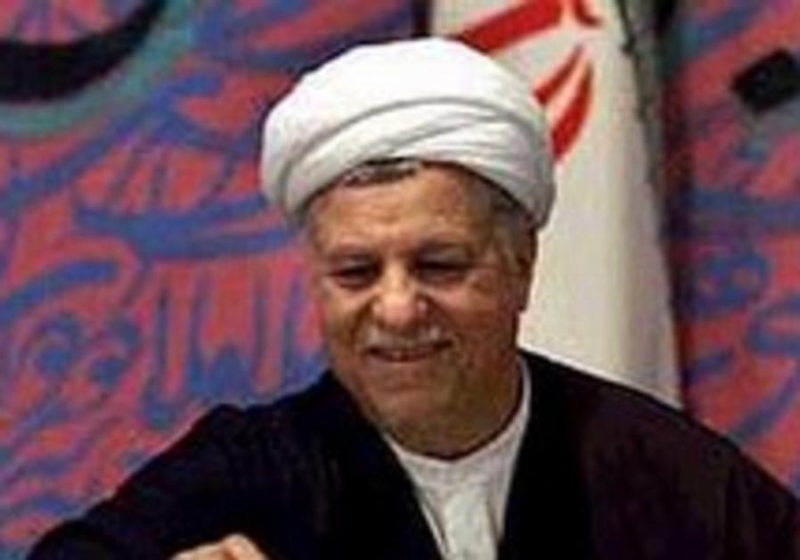 Rafsanjani: Teheran looking to see American 'good will'