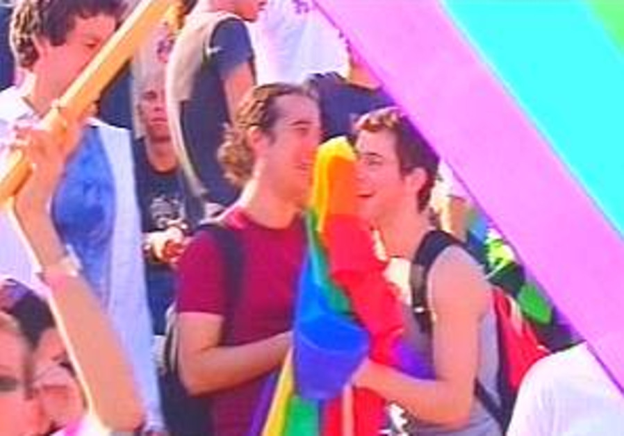 Gay rights rally comes off without a hitch