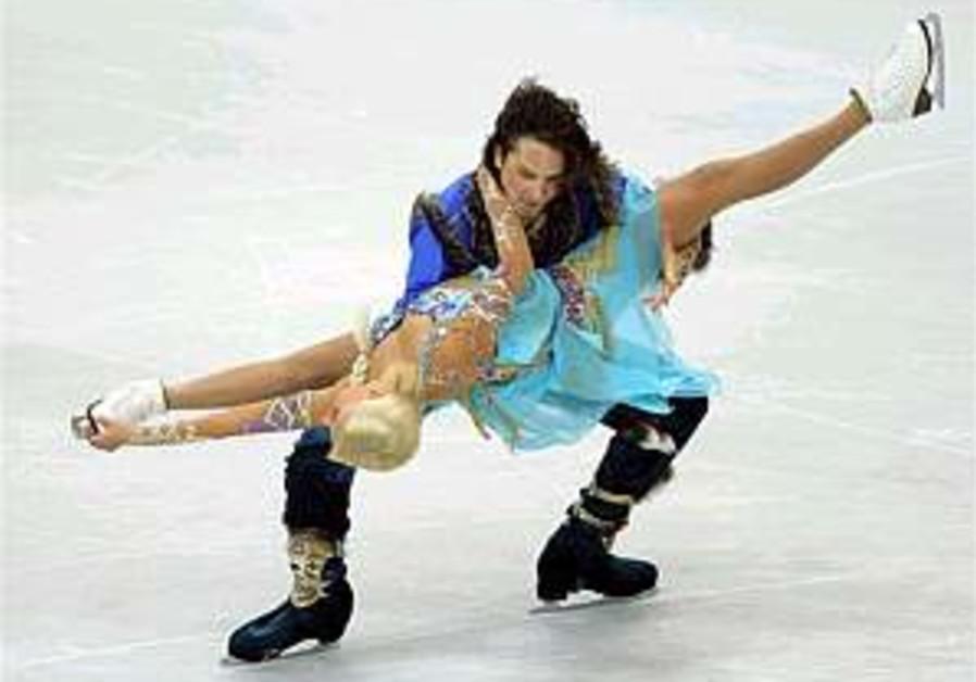Israeli ice dancing pair finish 4th in Nanjing
