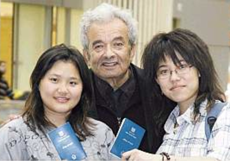 New Chinese immigrant family arrives in Israel