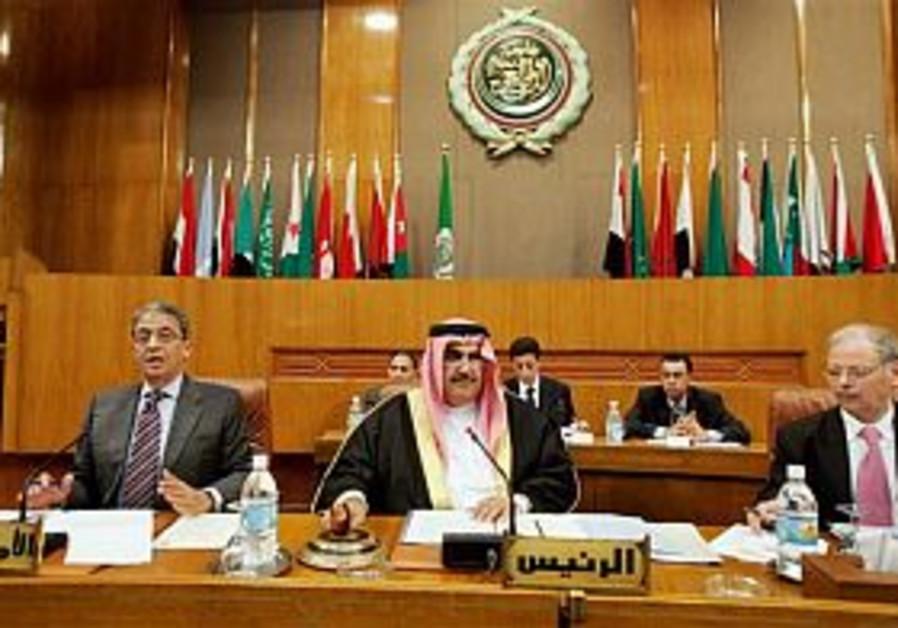 Olmert: We'll talk to the Arab League