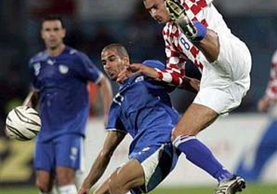 Euro qualifier: Croatia too fast, too strong for Israel