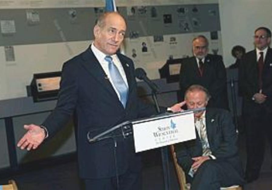 """Olmert: No """"quick fix"""" for Kassams"""