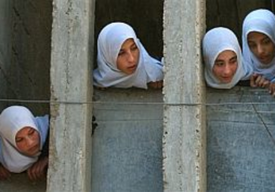 Arab growth rate in J'lem double Jews'