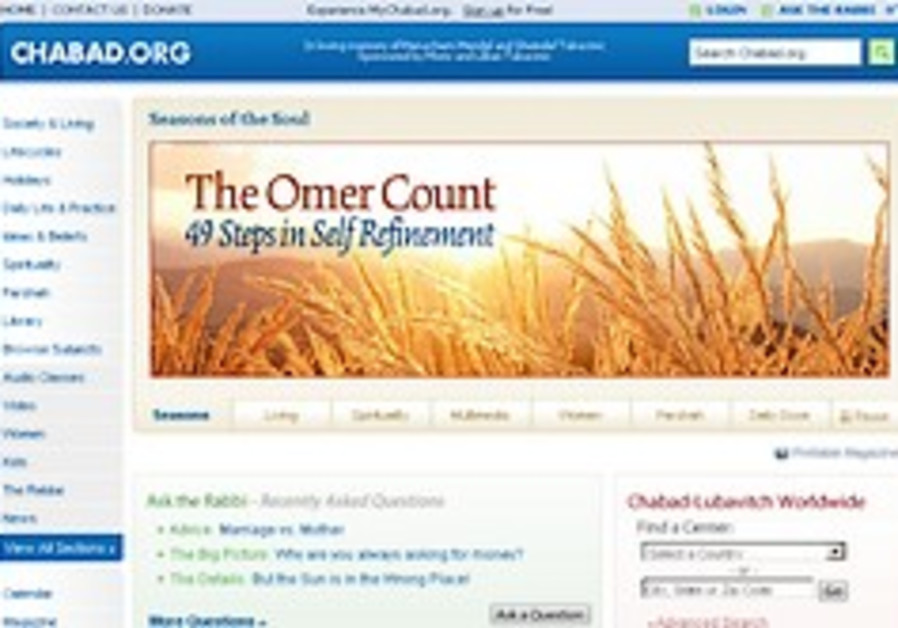For Chabad.org, failure is not an option