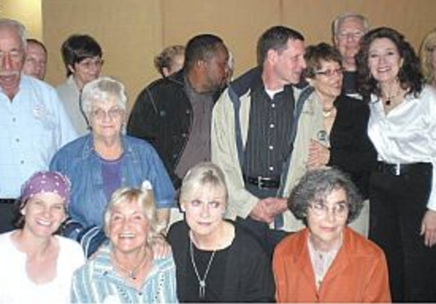 S. Africans pay Goldwassers solidarity visit