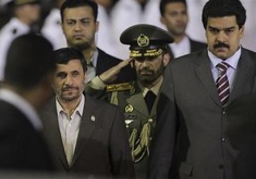 Ahmedinejad in Venezuela 248x88 AP