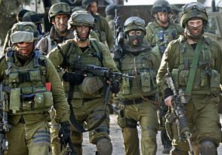 Elite Givati unit moves on to Jenin