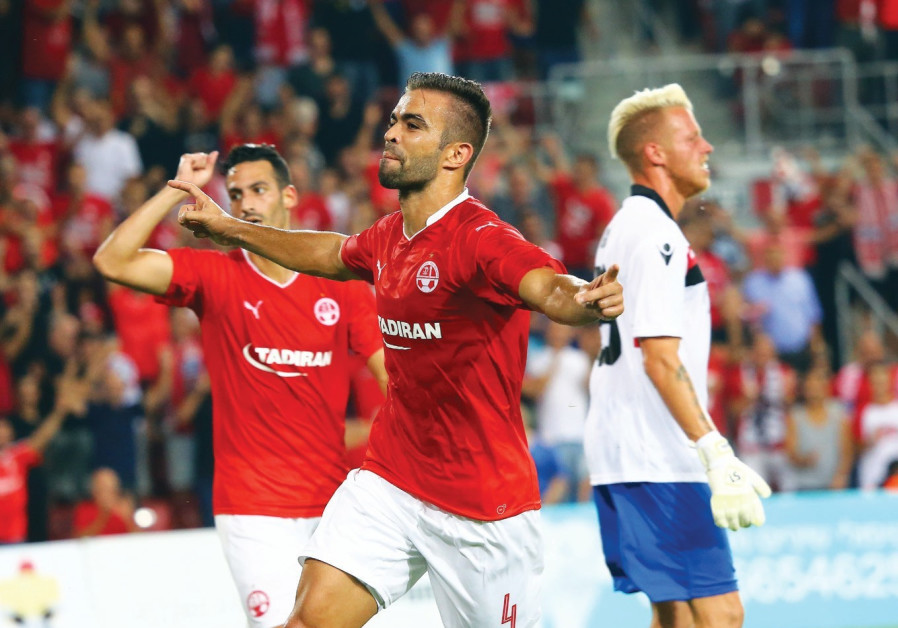 Hapoel Beersheba defender Miguel Vitor
