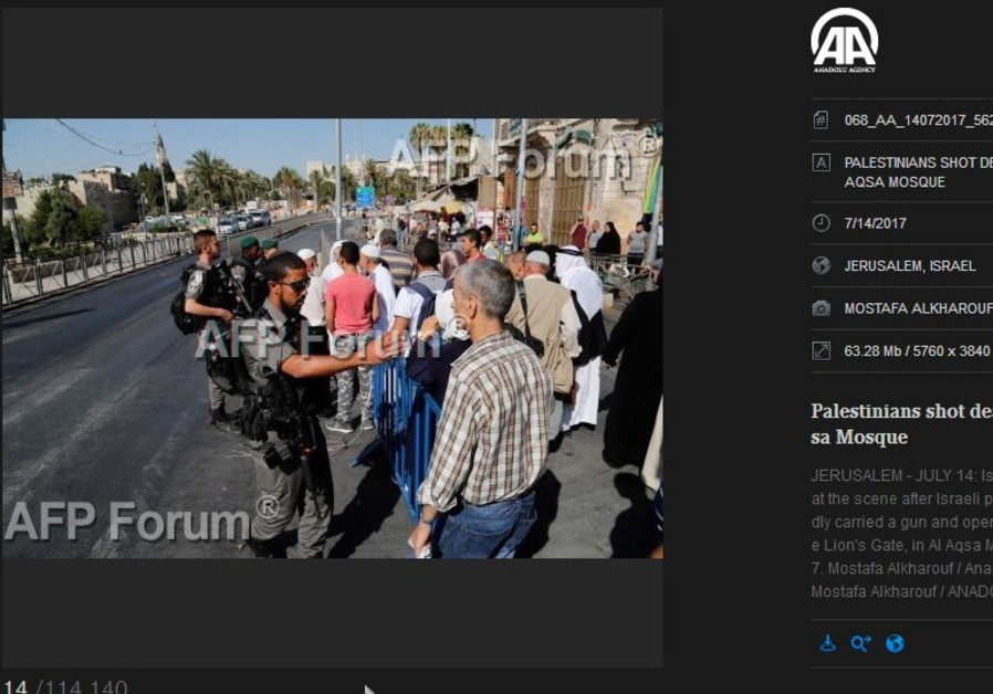 Screen cap of AFP/Anadolu
