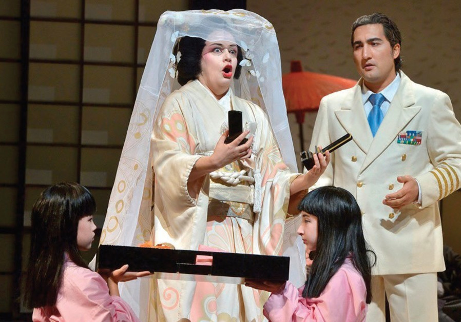 ISRAEL OPERA'S 'Madame Butterfly.'