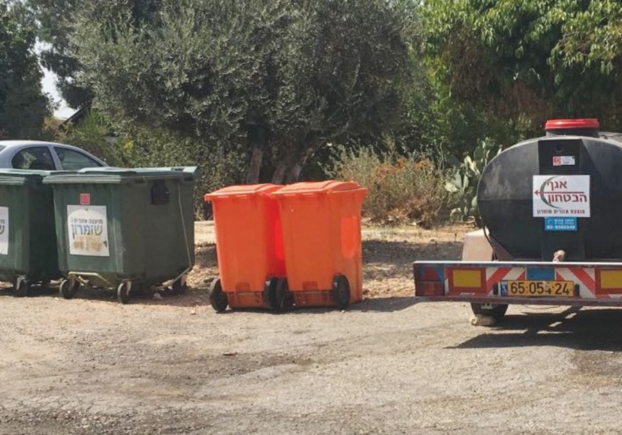 WATER TRUCKS are needed in the settlement of Shavei Shomron, west of Nablus.