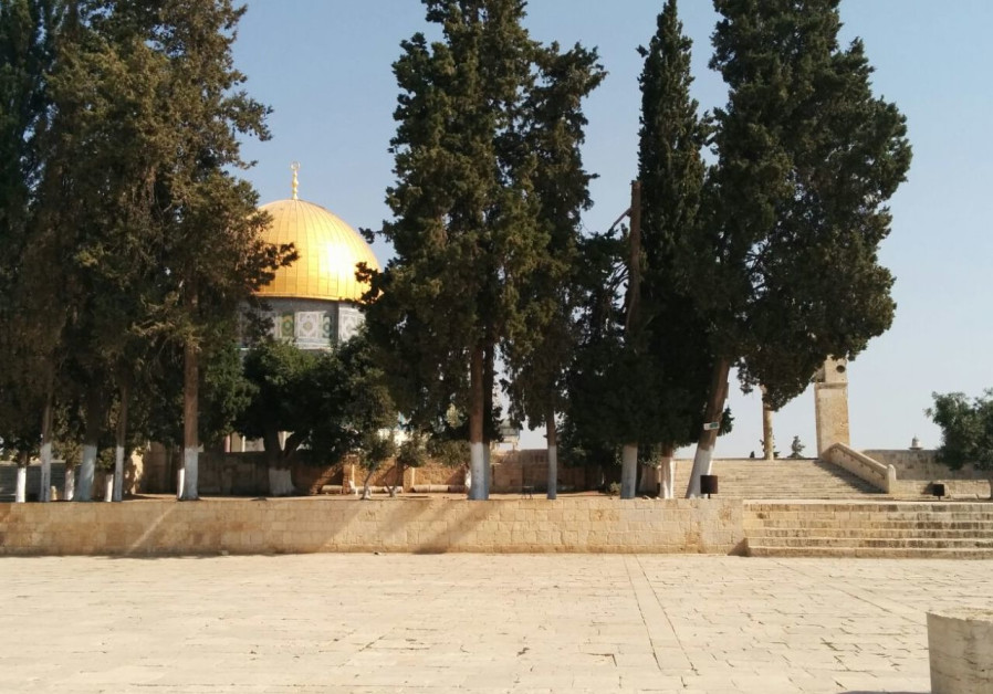 I don't want the Temple Mount