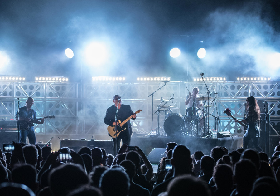 The Pixies perform in Israel's Caesarea Amphitheater