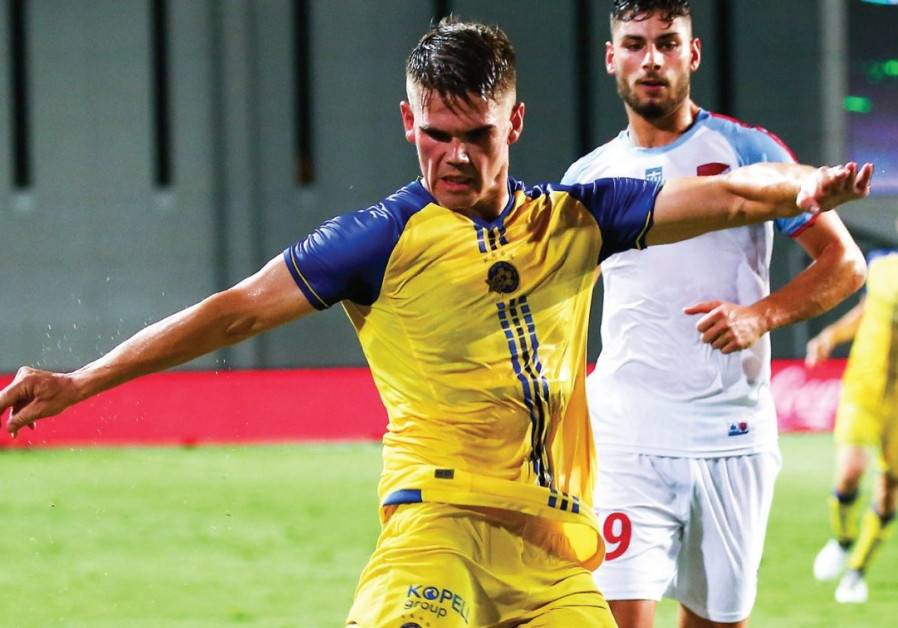 Maccabi Tel Aviv jumps out to first-leg lead