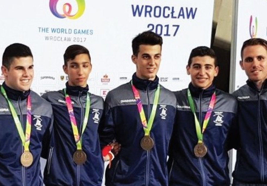 Blue-and-white racks up another pair of medals in Poland