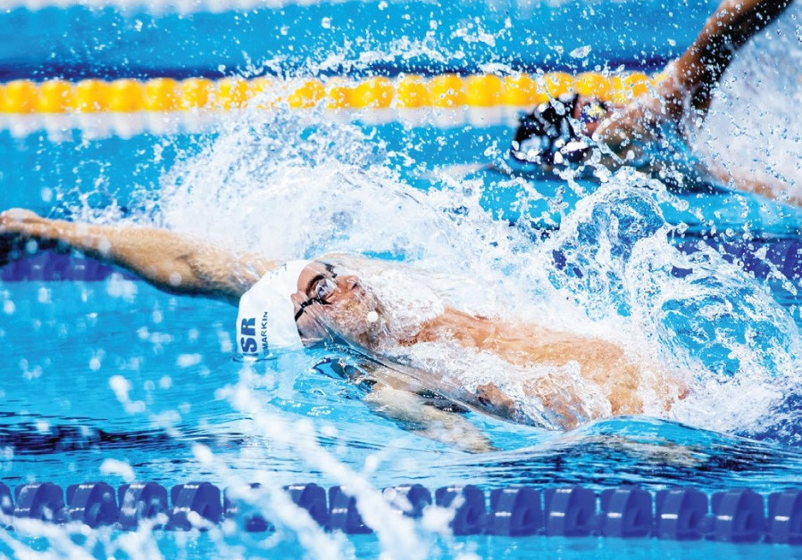 Israel's Murez finishes 16th in 100 • Toumarkin 23rd in 200 back