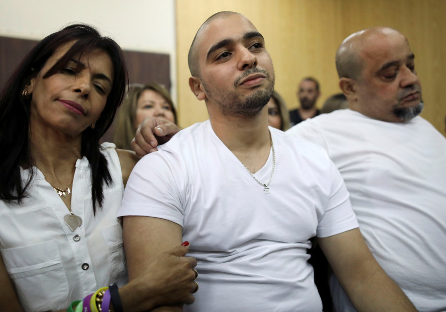 Former Israeli soldier Elor Azaria and his family await a ruling on the appeal of his manslaughter