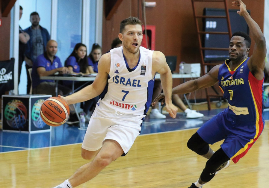 Guard Gal Mekel (left) seems certain to be part of Israel's 12-man roster for EuroBasket 2017