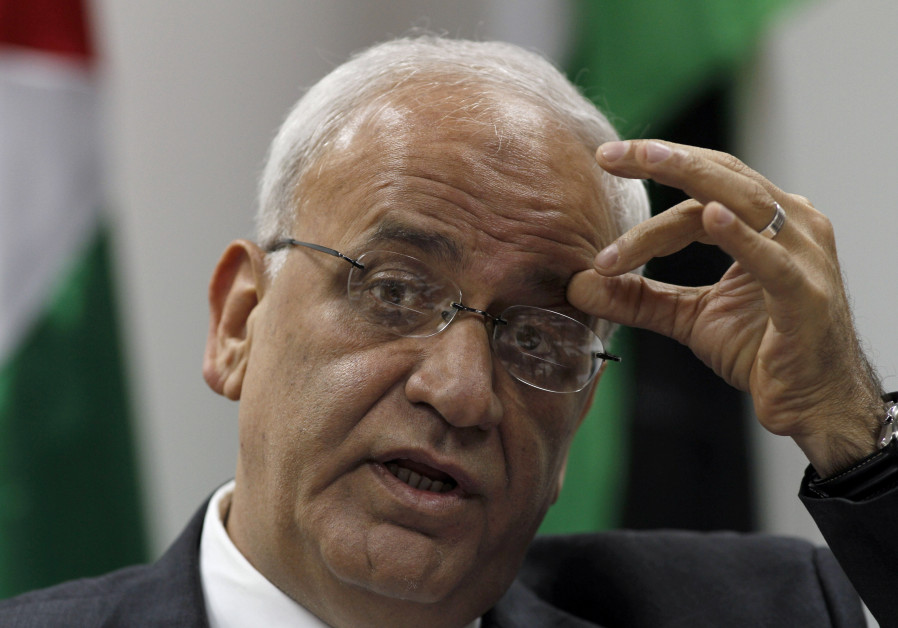 Erekat: Trump promoting international anarchy with embassy move